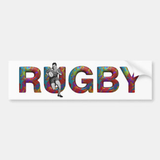 TOP Rugby Bumper Sticker