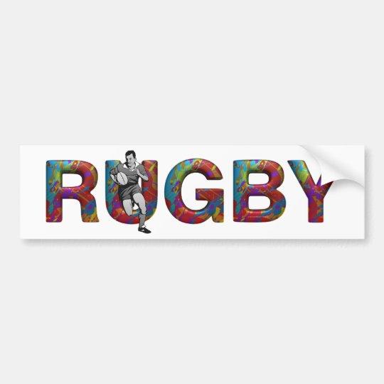 TOP Rugby Bumper Sticker