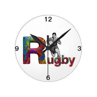 TOP Rugby Round Clocks