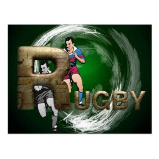 TOP Rugby Postcard
