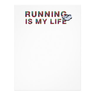 TOP Running is My Life 21.5 Cm X 28 Cm Flyer
