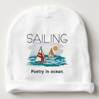 TOP Sail Poetry Baby Beanie
