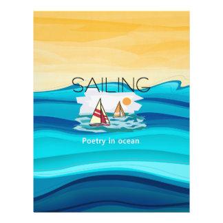 TOP Sailing Poetry 21.5 Cm X 28 Cm Flyer