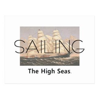 TOP Sailing Seas Post Cards