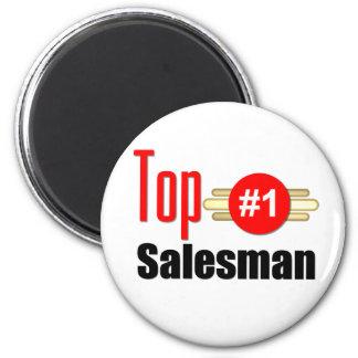 Top Salesman 6 Cm Round Magnet
