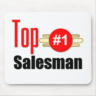 Top Salesman Mouse Mat