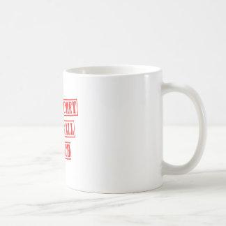 Top Secret Baseball Coach Coffee Mug