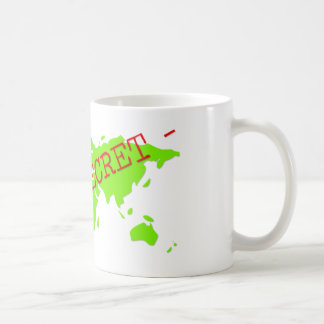 Top Secret Basic White Mug