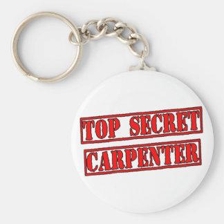 Top Secret Carpenter Keychain