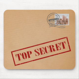 Top Secret Envelope Mousepad