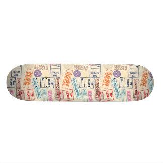 Top Secret - Go Away! Skateboard Deck