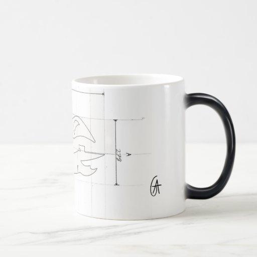 Top Secret Heat Sensitive Cup Coffee Mug