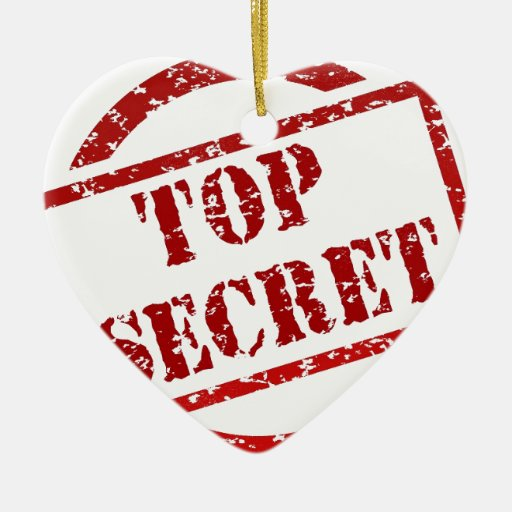 Top Secret image Ornament