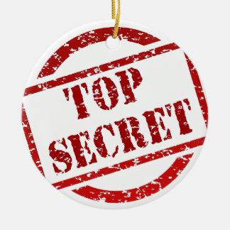 Top Secret image Christmas Tree Ornament