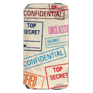 Top Secret - Keep Out Incipio Watson™ iPhone 6 Wallet Case