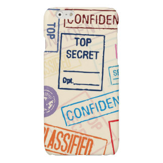 Top Secret - Keep Out iPhone 6 Plus Case