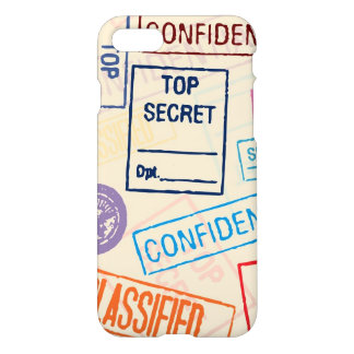 Top Secret - Keep Out iPhone 7 Case