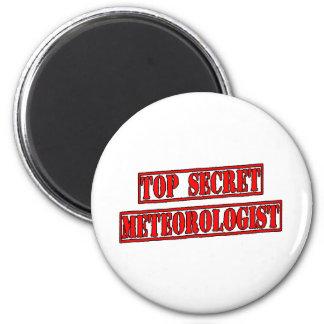 Top Secret Meteorologist Fridge Magnets