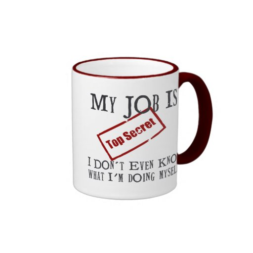Top Secret! Mug