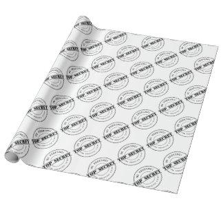 Top Secret | No peeking | Christmas wrapping paper