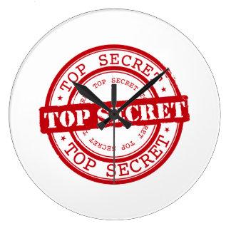 Top Secret Seal Wallclocks