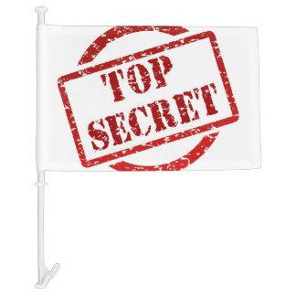 Top Secret Stamp Car Flag