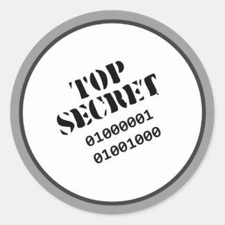 Top Secret stickers © Angel Honey, 2009