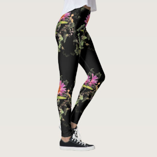 Top Selling Daisy Custom Leggings