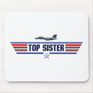 Top Sister Logo Mouse Pad