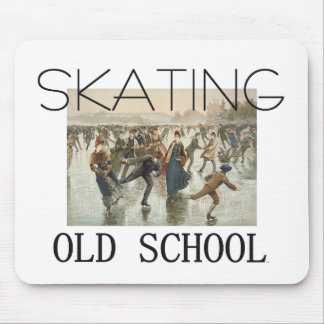 TOP Skating Old School Mouse Pad