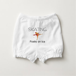TOP Skating Poetry Nappy Cover
