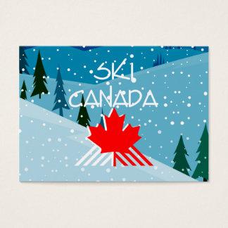 TOP Ski Canada Business Card