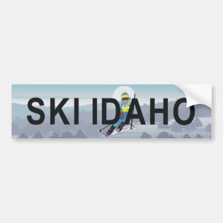 TOP Ski Idaho Bumper Sticker