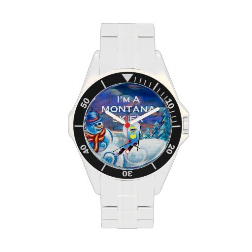 TOP Ski Montana Wrist Watches
