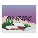 TOP Ski Nordic Poster
