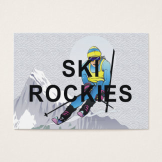 TOP Ski Rockies Business Card