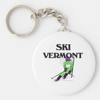 TOP Ski Vermont Key Ring