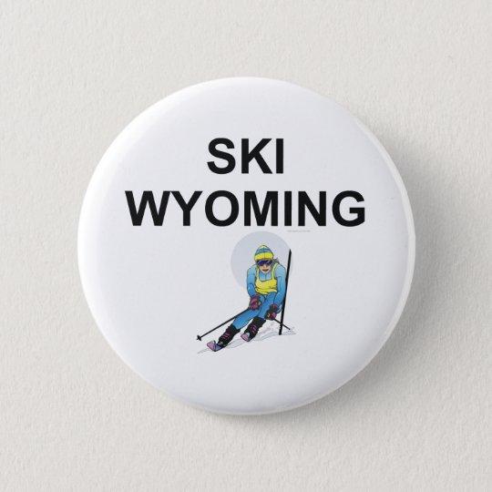 TOP Ski Wyoming 6 Cm Round Badge