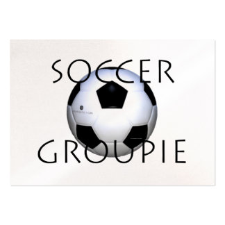 TOP Soccer Groupie Business Card Template