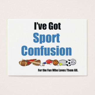 TOP Sport Confusion Business Card