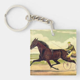 TOP Sulky Champ Double-Sided Square Acrylic Key Ring
