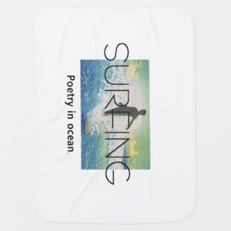 TOP Surf Poetry Buggy Blankets
