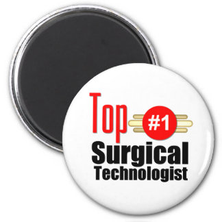 Top Surgical Technologist 6 Cm Round Magnet