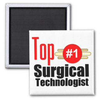 Top Surgical Technologist Fridge Magnets