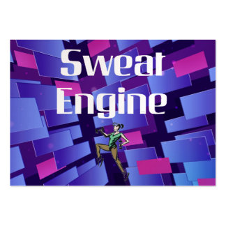 TOP Sweat Engine Pack Of Chubby Business Cards