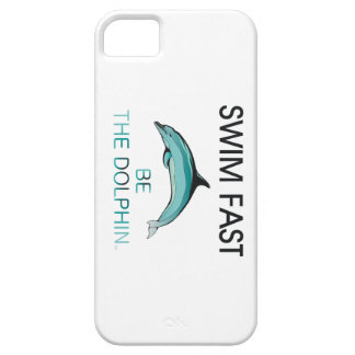 TOP Swim Dolphin Fast iPhone 5 Cover
