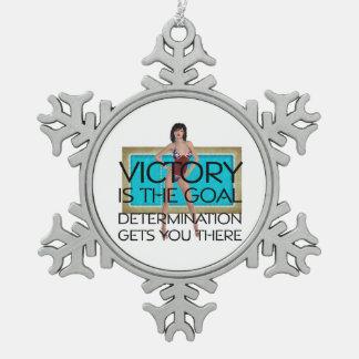 TOP Swim Race Victory Ornament