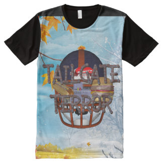 TOP Tailgate Terror All-Over Print T-Shirt
