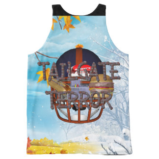 TOP Tailgate Terror All-Over Print Tank Top