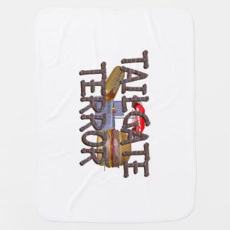 TOP Tailgate Terror Baby Blankets